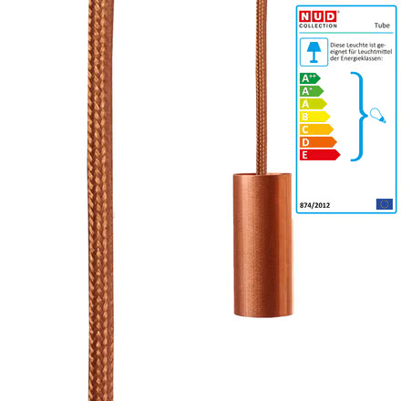 Tube Aqua in Copper (TT16) von Nud Collection
