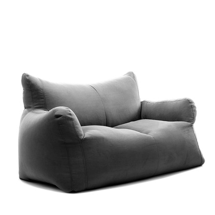 Checker XL Sofa Indoor von Sitting Bull in Dunkelgrau