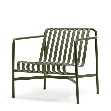 Der Palissade Lounge Chair Low von Hay in olive