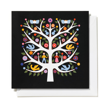 Greeting Card Tree of Life von Vitra