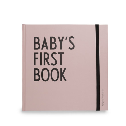 Baby's First Book von Design Letters in Rosa