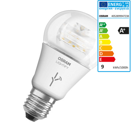 Lightify LED Classic A 60 in Tunable White von Osram