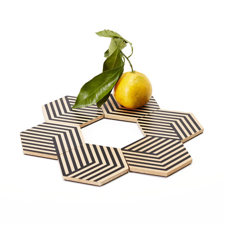 Table Tiles Optic Untersetzer von Areaware