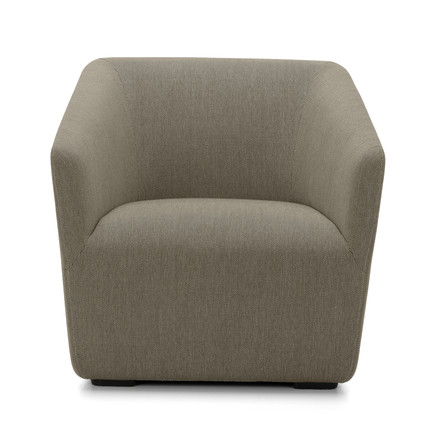 Occasional Lounge Chair von Vitra in Grau (Warmgrey 05)