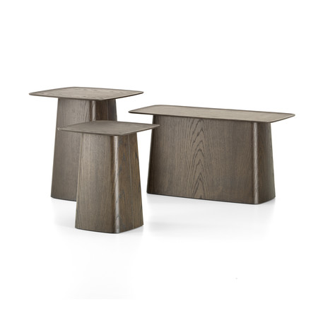 Wooden Side Table von Vitra in Nussbaum