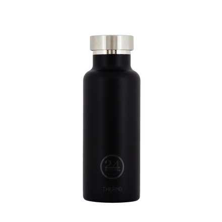 Thermo-Bottle 0.5 l in schwarz von 24Bottles