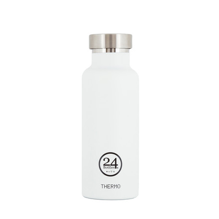 Thermo-Bottle 0.5 l in weiß von 24Bottles