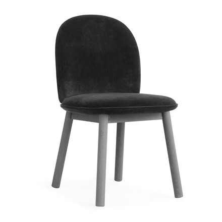 Ace Chair Velour von Normann Copenhagen in Grau