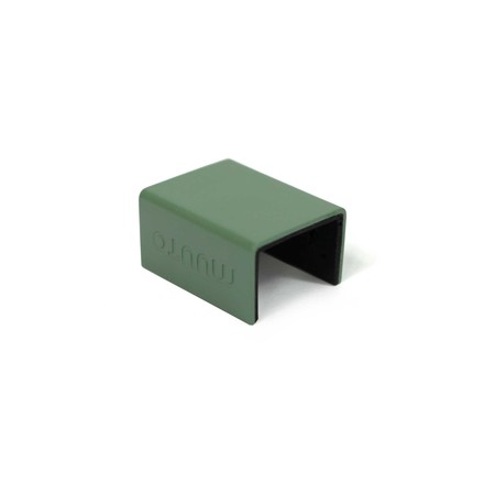 "Muuto - Klammern für ""Mini Stacked"" Regalsystem, dusty green (5e"