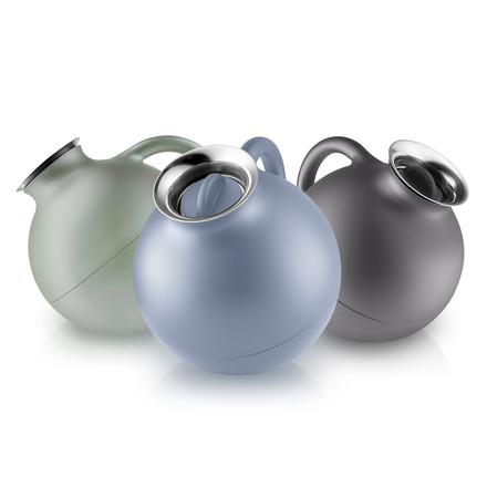 Globe Isolierkanne Nordic Grey, Blue und Green