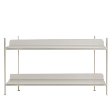 Compile Shelving System (Config. 1) von Muuto in Grau