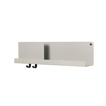 Medium Folded Shelve 63 x 16,5 cm von Muuto in Grau