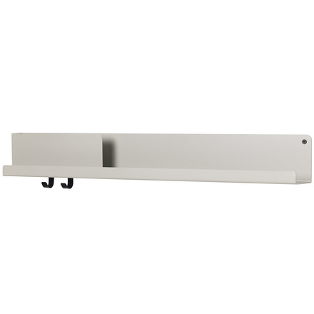 Large Folded Shelve 96 x 13 cm von Muuto in Grau