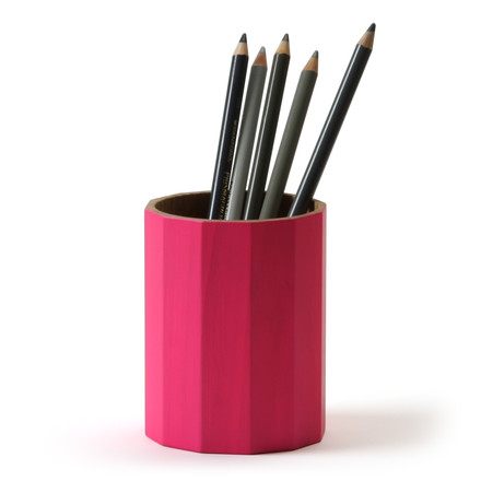 Karimoku New Standard - Colour Bin, small / vivid pink