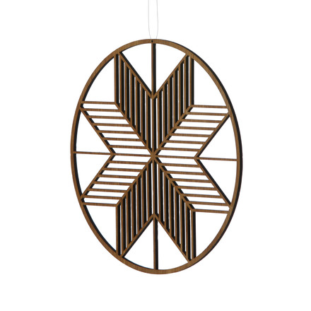 Wooden Crystal Large von ferm Living