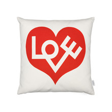 Vitra - Graphic Print Pillow - Love