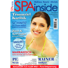 Presse SpaInside Nr. 11/2012 - Cover