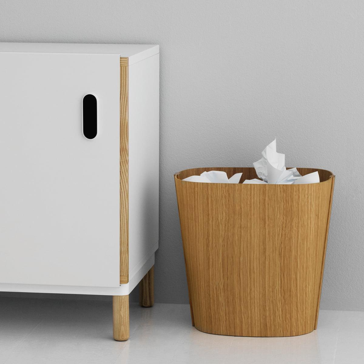 holz papierkorb von normann copenhagen im shop. Black Bedroom Furniture Sets. Home Design Ideas
