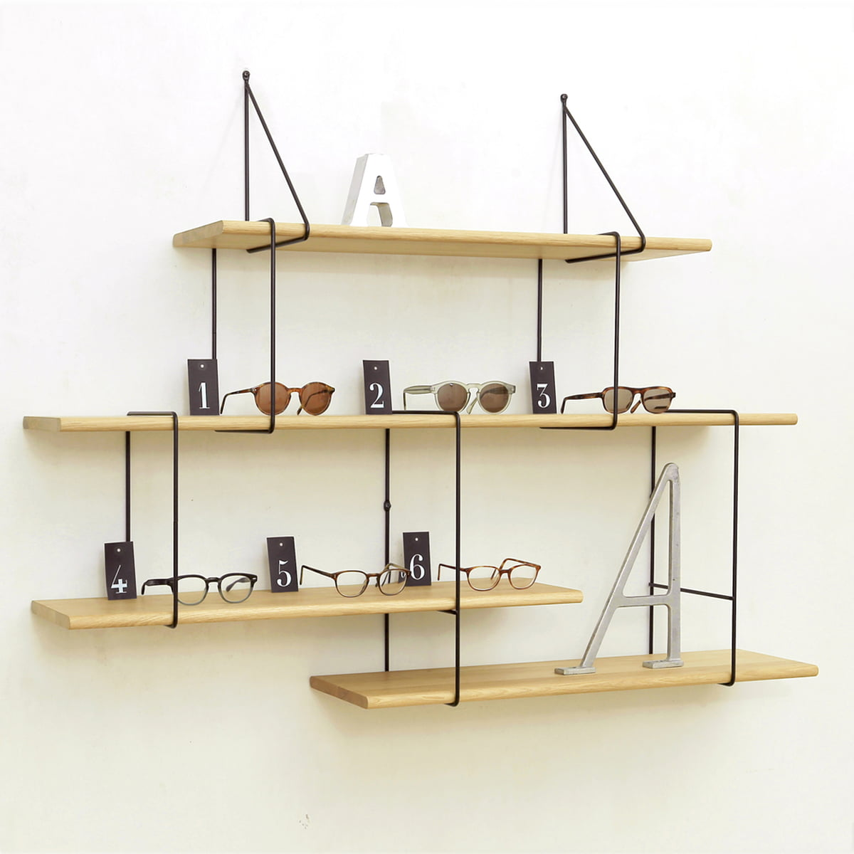 link regalsystem 2 von studio hausen. Black Bedroom Furniture Sets. Home Design Ideas