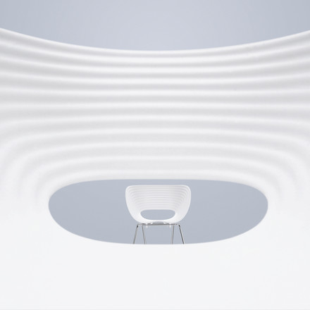 Vitra - Tom Vac Chair, Detailansicht