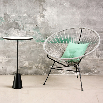 OK Design - The Condesa Chair, hellgrau