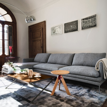 Zanotta - William Sofa, grau