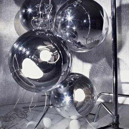 Tom Dixon - Light Tripod Stand Mirror Balls