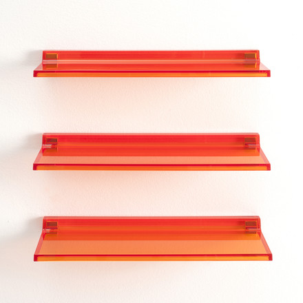 Kartell - Shelfish Wandablage, orange