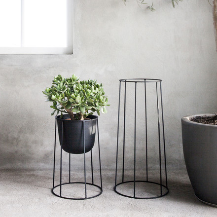 Menu - Wire Pot, schwarz