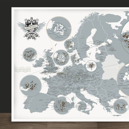 Pop Chart Lab - Breweries of Europe, Detail