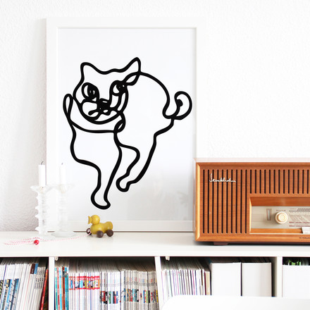 snug.loves.cats Poster von Snug.studio