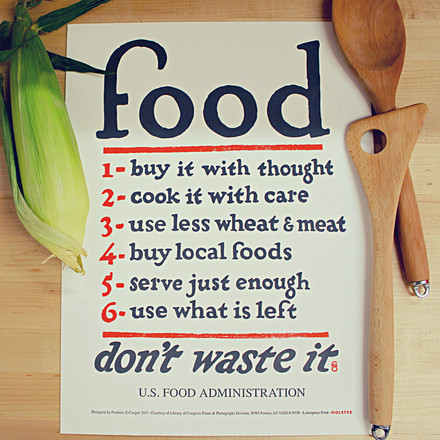 Food Rules Poster von Holstee