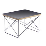 Vitra - Eames Occasional Table LTR, HPL schwarz / chrom