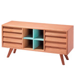 The Hansen Family - Remix Collection Sideboard, Eiche natur / blau