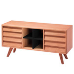 The Hansen Family - Remix Collection Sideboard, Eiche natur / schwarz