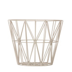 ferm Living - Wire Basket Small, grau