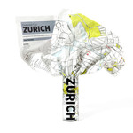 Palomar - Crumpled City Map - Zurich