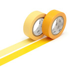 Masking tape - 2P basic color tamago, himawari (2er-Set)