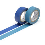 Masking tape - 2P basic color ruri, asahanda (2er-Set)
