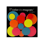 ThreeByThree - Color Dot Magnete, 15 Stück