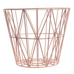 ferm Living - Wire Basket Large, rose