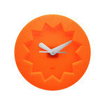 Kartell - Crystal Palace Wanduhr, orange