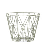 ferm Living - Wire Basket Small, dusty green
