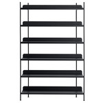 Muuto - Compile Shelving System (Config. 4), schwarz