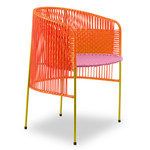 ames - caribe Dining Chair, orange / rosa / curry
