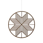 ferm Living - Wooden Christal Holzornament