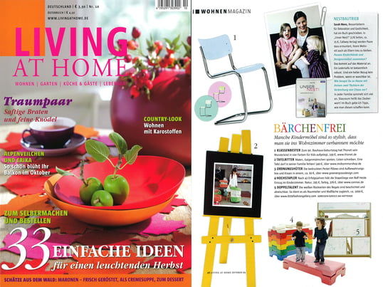 Cover + Artikel: Living at Home - 2009 September Seite 48 - Stapelliege Kindergröße