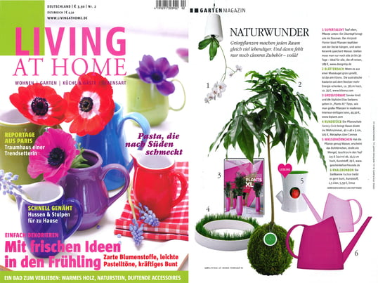 Cover + Artikel: Living at Home - 2010 Februar Seite 108  - Factory Circle