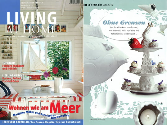 Cover + Artikel: Living at Home - 2010 März Seite 92 - Eva Solo Messermagneten
