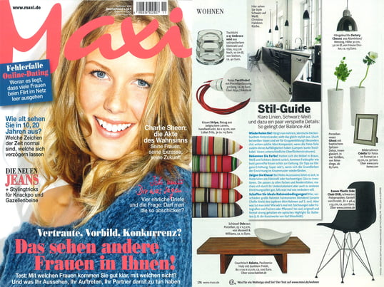 "Artikel+Cover: Maxi, 2011 November, Seite 176, ""Stil-Guide"""